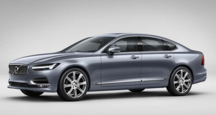 All-new Volvo S90 cheaper hybrid option