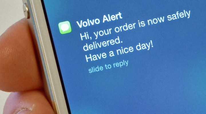 Volvo explores delivery concept for parked cars