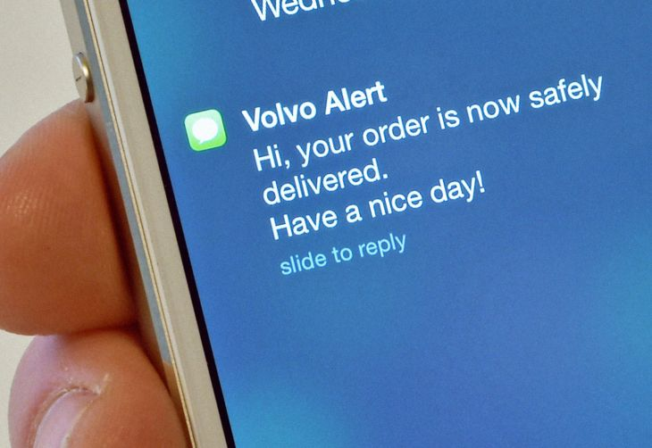 Volvo explores delivery concept for parked cars 1