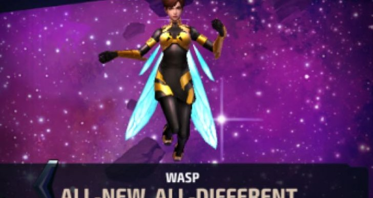 Marvel Future Fight ANAD Wasp uniform review