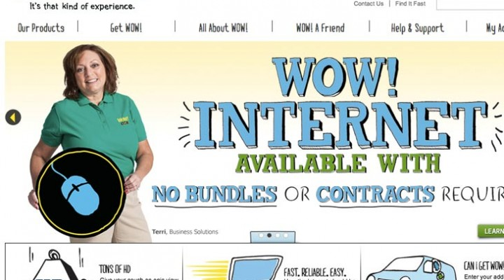 WOW cable down, internet not working across US