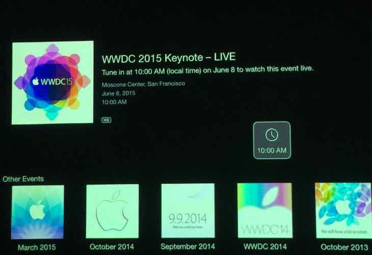 WWDC 2015 keynote live stream