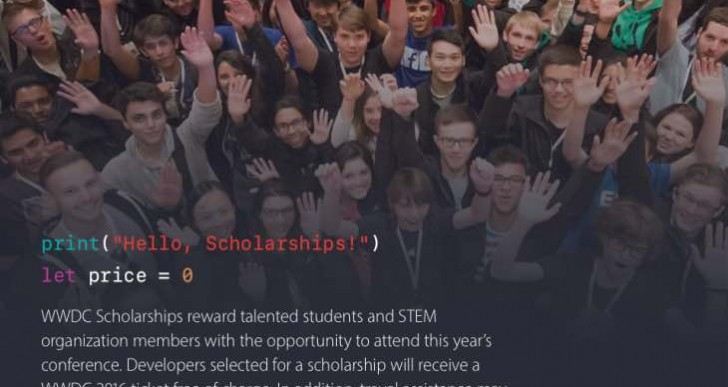 WWDC Scholarship 2016 winners notified today