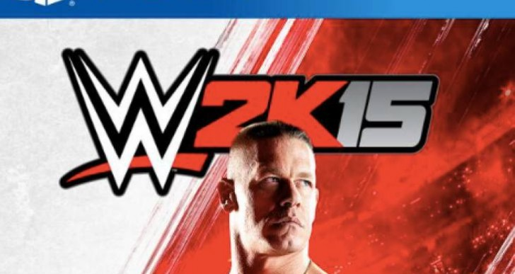 WWE 2K15 John Cena cover after championship