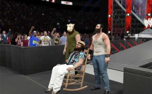 WWE 2K15 Wyatt entrance video before Xbox 360, PS3 release