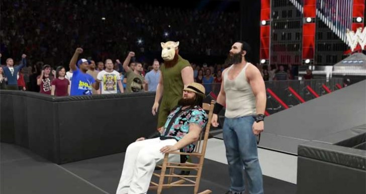 WWE 2K15 Wyatt entrance video before Xbox 360, PS3 release