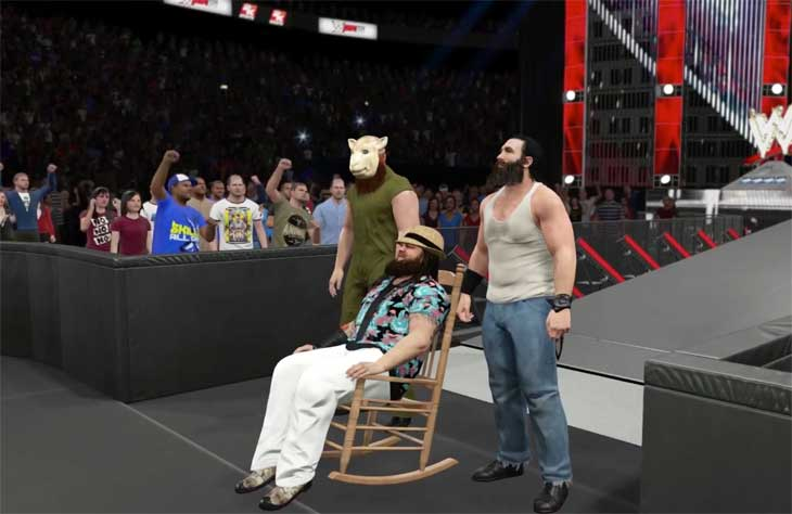WWE-2K15-Wyatt-Entrance-video