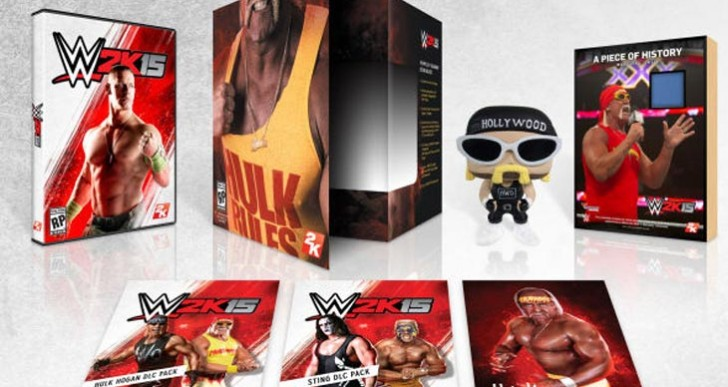 WWE 2K15 roster list live event time and stream
