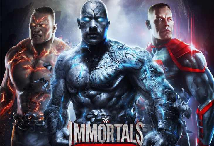 WWE Immortals for iOS and Android