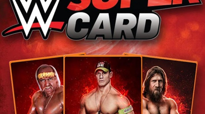 WWE Supercard app for iOS and Android