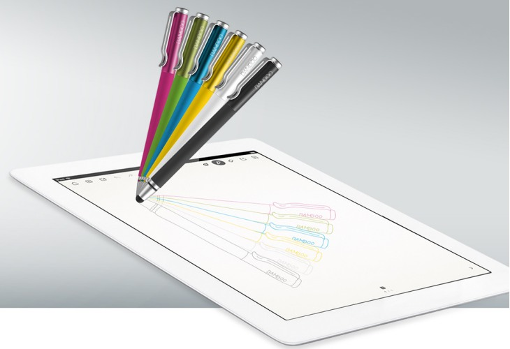 Wacom Bamboo Stylus Solo offers an authentic pen-like experience on touchscreens devices