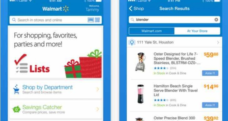 Walmart App update prepares for Cyber Monday