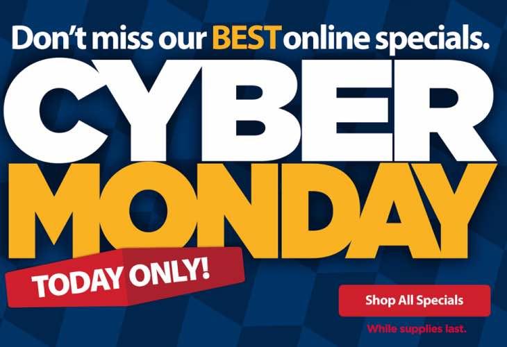 Walmart Cyber Monday times