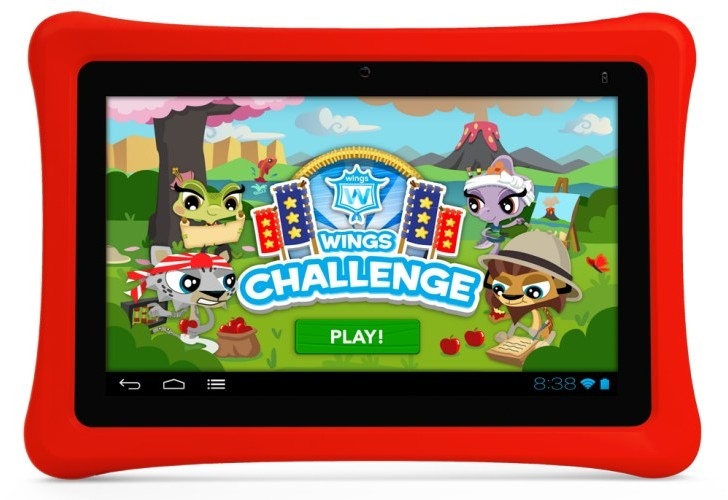 Walmart's Nabi 2 Nickelodeon tablet in visual review