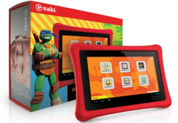 Walmart's Nabi 2 Nickelodeon tablet