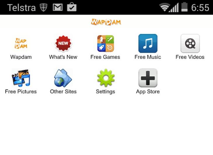 Wapdam-app