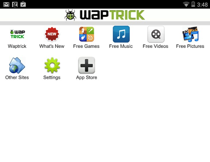 Waptrick Android-App
