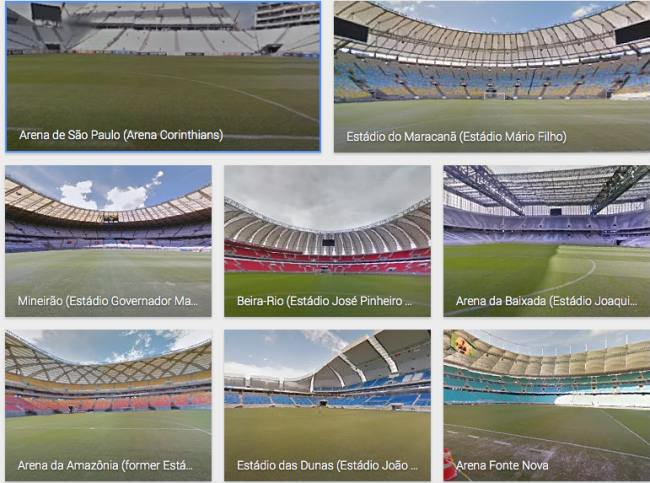 Watch 2014 Brazil World Cup stadiums