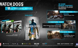 Watch Dogs Collector's Edition only on PS3 in India
