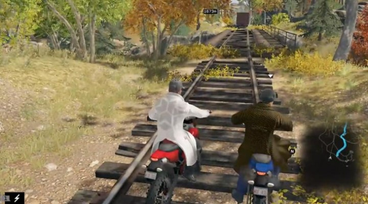 Watch Dogs online race gameplay with map route
