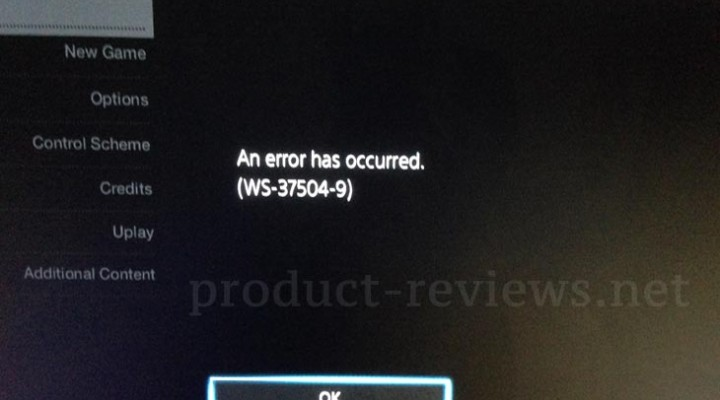 Watch Dogs WS-37504-9 PS4 error questions PSN status