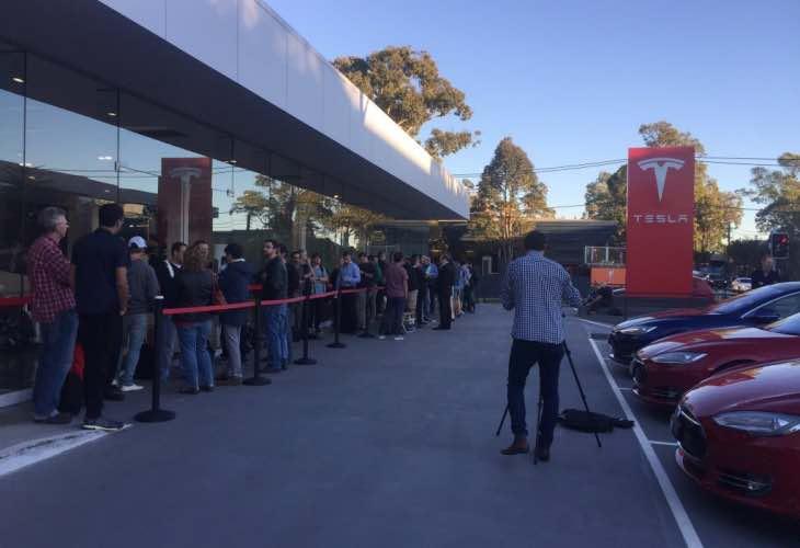 Watch Model 3 Unveil live