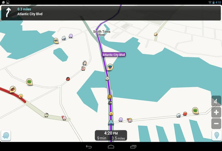 Waze-Android-app-shines