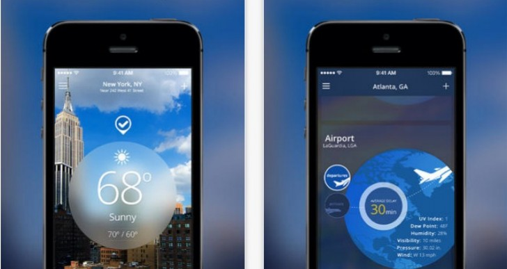 Weather Channel app for iPad misses overhaul