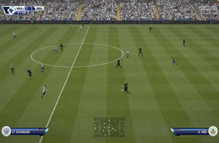 West Brom vs Burnley prediction for match today in FIFA 15