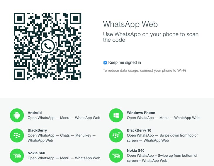 WhatsApp-web-portal