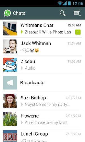 Whatsapp Android success