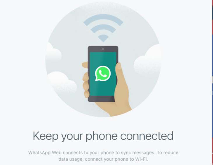 Whatsapp for Mac Keep your phone connected