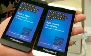 White BlackBerry Z10 delayed by two weeks