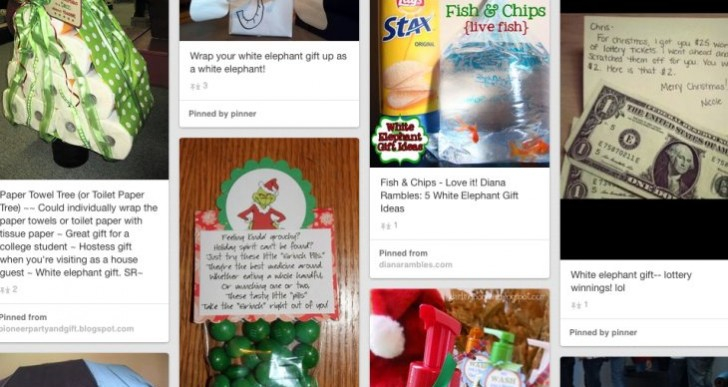 White Elephant game simplifies ideas for gifts