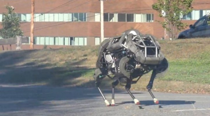 WildCat the four-legged robot