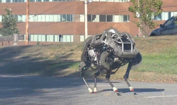 WildCat the four-legged robot
