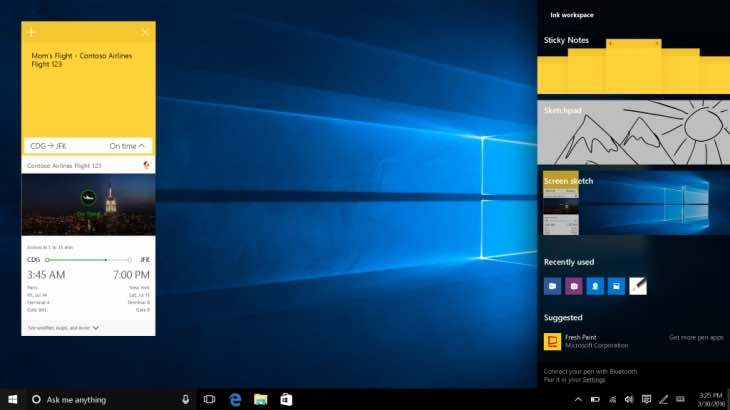 Windows 10 Anniversary Edition features