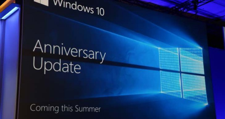 Windows 10 Anniversary Update release time not like macOS Sierra