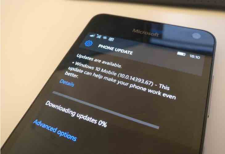 Windows 10 Mobile Anniversary Update bugs