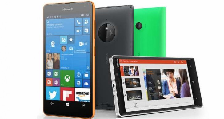 Windows 10 Mobile Anniversary Update release, supported devices