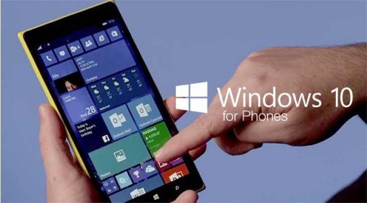 Windows 10 Mobile OTA update date