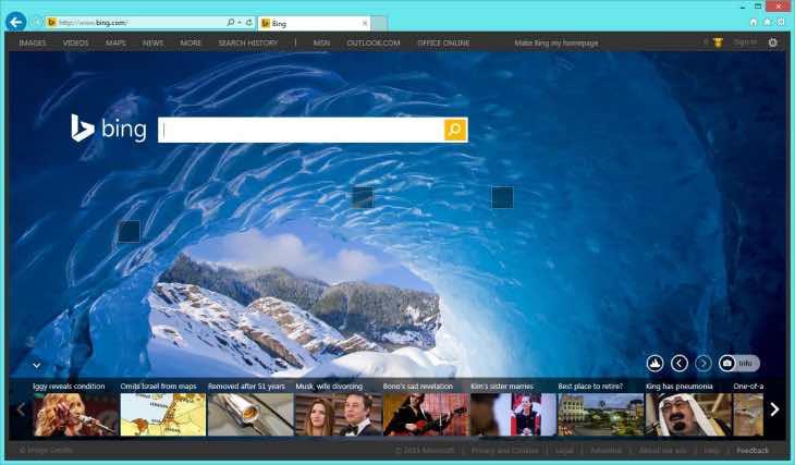 Windows 10 browser search overhaul