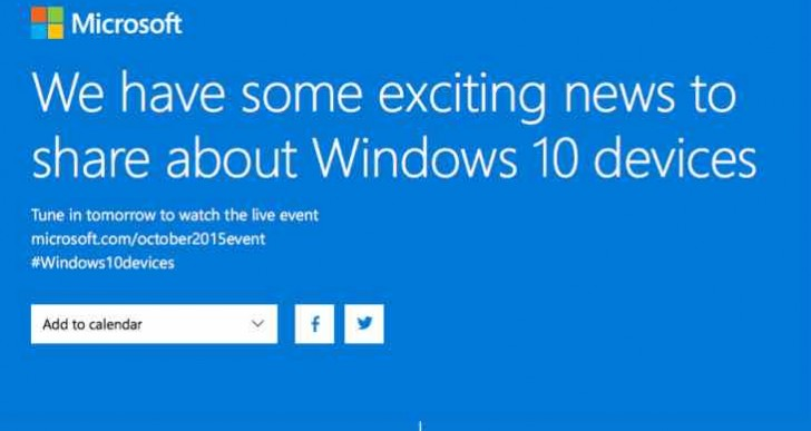 Windows 10 device event countdown to live stream today