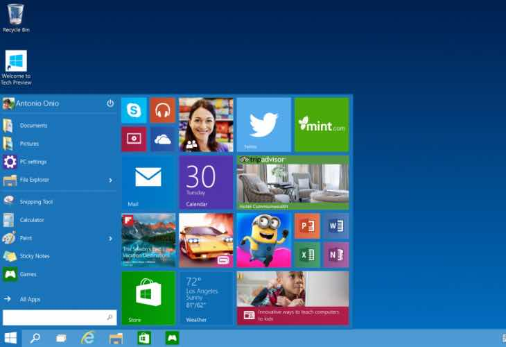 Windows 10 features return of user favorite