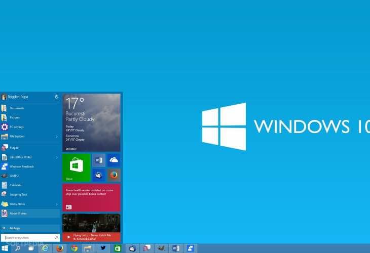 Windows 10 install size saves storage space