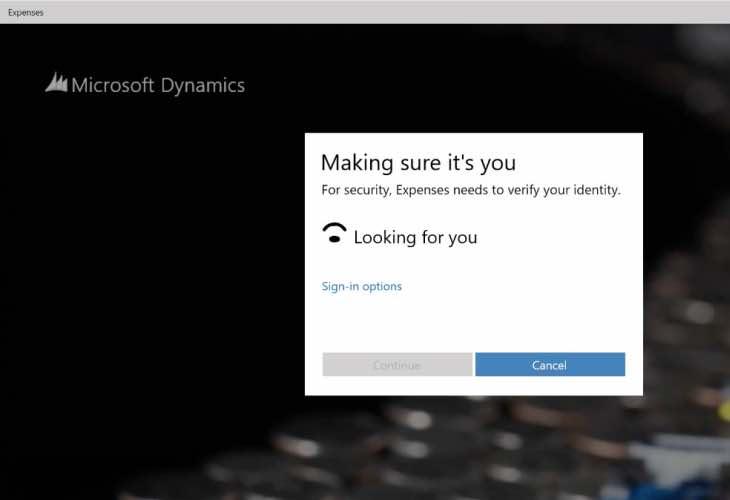 Windows 10 login options