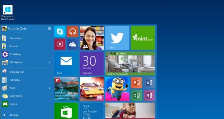 Windows 10 launch window pinpointed