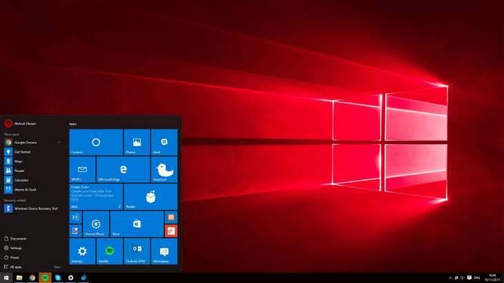 Windows 10.1, Redstone update