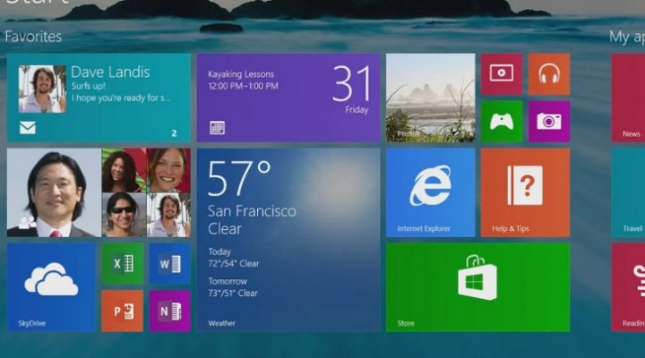 Windows 8.1 Update 1 liberation this weekend