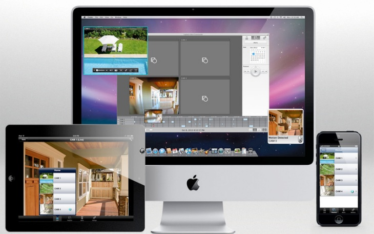 Wireless security camera systems for Mac